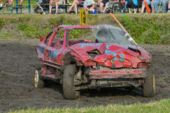 Demolition derby Royalty Free Stock Images