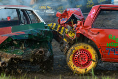 Demolition derby Stock Images