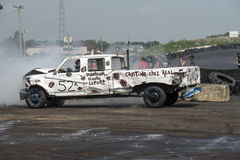 Demolition derby Stock Image