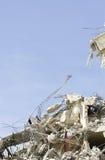 Demolition Destruction stock photo