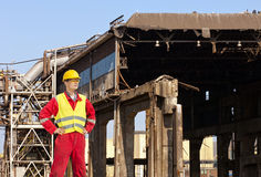 Demolition engineer Stock Images