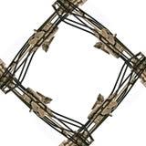 Demolition frame vector illustration