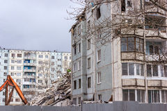 Demolition House. Royalty Free Stock Images