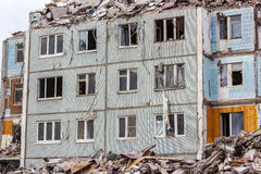Demolition House. Stock Photos