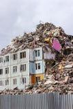 Demolition House. Royalty Free Stock Photo