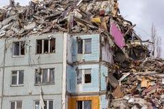 Demolition House. Stock Image