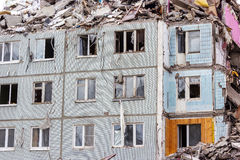 Demolition House. Royalty Free Stock Image
