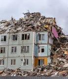 Demolition House. Royalty Free Stock Photos