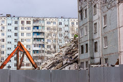 Demolition House. Stock Photography