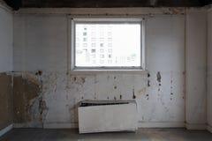 Demolition - improvements on existing construction Stock Photo