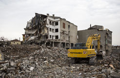 Demolition Royalty Free Stock Photo