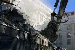 Demolition Job Royalty Free Stock Photo