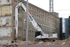 Demolition in Leipzig Royalty Free Stock Photos