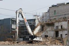Demolition in Leipzig Stock Photos