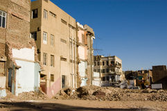 Demolition, Luxor, Egypt Royalty Free Stock Image