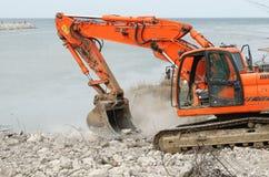 Demolition machine Royalty Free Stock Photography