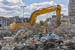 Demolition machine Stock Images