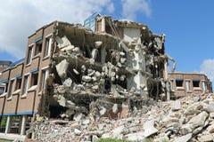 Demolition of office