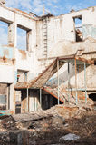 Demolition of old buildings Royalty Free Stock Image