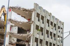 Demolition parking garage in Velbert Royalty Free Stock Photo