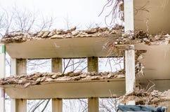 Demolition parking garage in Velbert Stock Photos