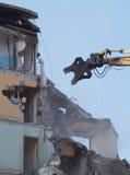 demolition postęp Zdjęcie Stock