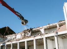 Demolition process - new beginings Stock Photos