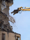 Demolition in progress Royalty Free Stock Images