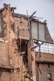 Demolition in progress Stock Images