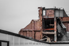 Demolition in progress Stock Photography