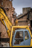 Demolition in progress Royalty Free Stock Photography