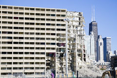 Demolition of project building Royalty Free Stock Photography