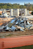 Demolition rubble Royalty Free Stock Image