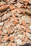 Demolition rubble. Full frame take of demolition rubble Stock Images