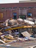 A demolition site Stock Images