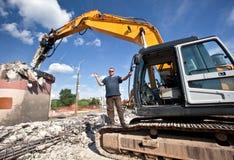 Demolition Site Stock Image