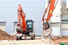 Demolition site Royalty Free Stock Image