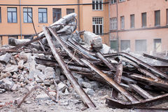 Demolition site Royalty Free Stock Photos