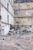 Demolition site Royalty Free Stock Images