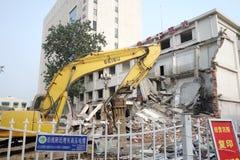 demolition site Royalty Free Stock Photos