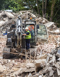 Demolition site. Royalty Free Stock Images