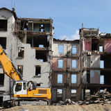 Demolition square Stock Images