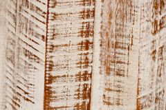 Demolition wood texture white to brown royalty free stock photography