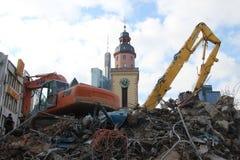 Demolition work Stock Image