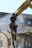 Demolition work stock images