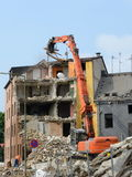 Demolition work Royalty Free Stock Image