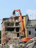 Demolition work royalty free stock image
