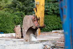 Demolition works Stock Photography