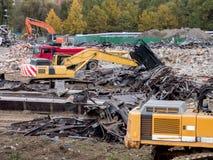 demolizione Fotografia Stock Libera da Diritti