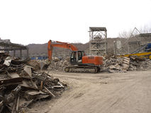 demolizione Fotografie Stock Libere da Diritti